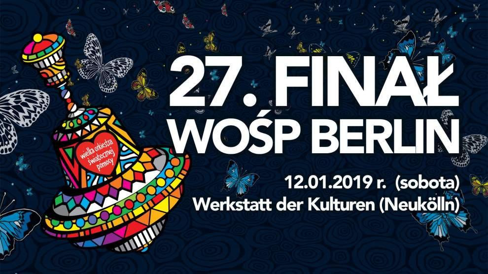 27 Finał Wośp 2019 Berlin Wberliniede