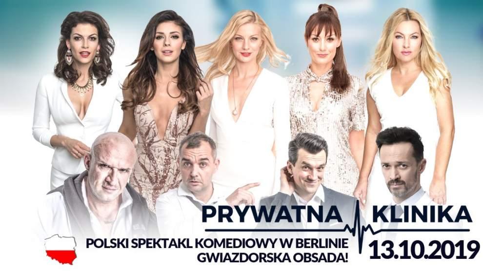 Prywatna klinika - polski spektakl komediowy w Berlinie